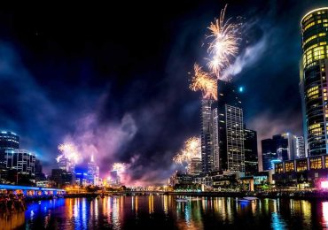 New Years Eve Melbourne Fireworks